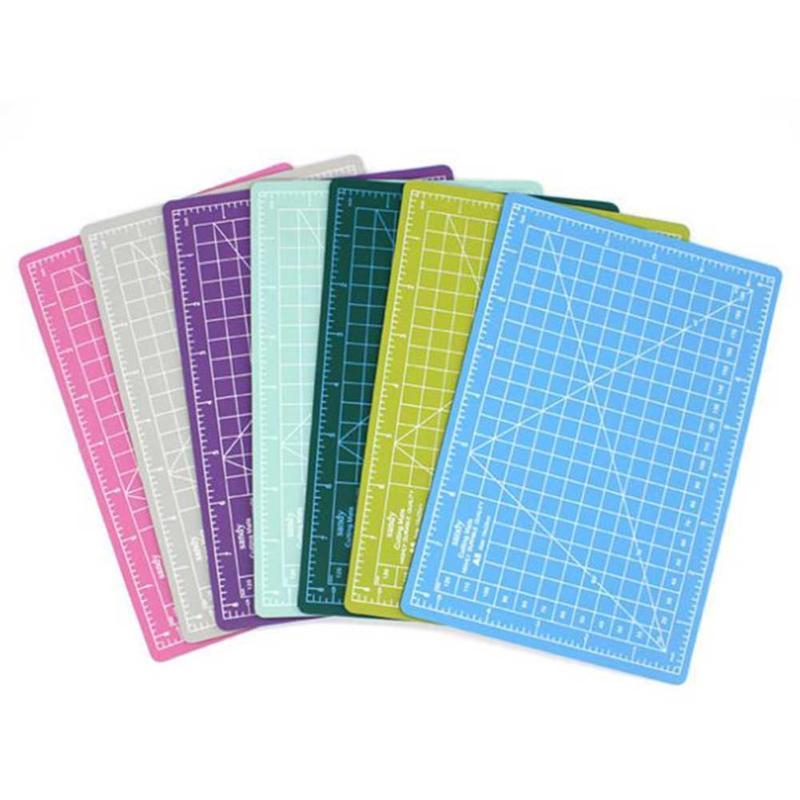 A5 cutting craft mat pvc self healing office home paper for Self healing craft mat