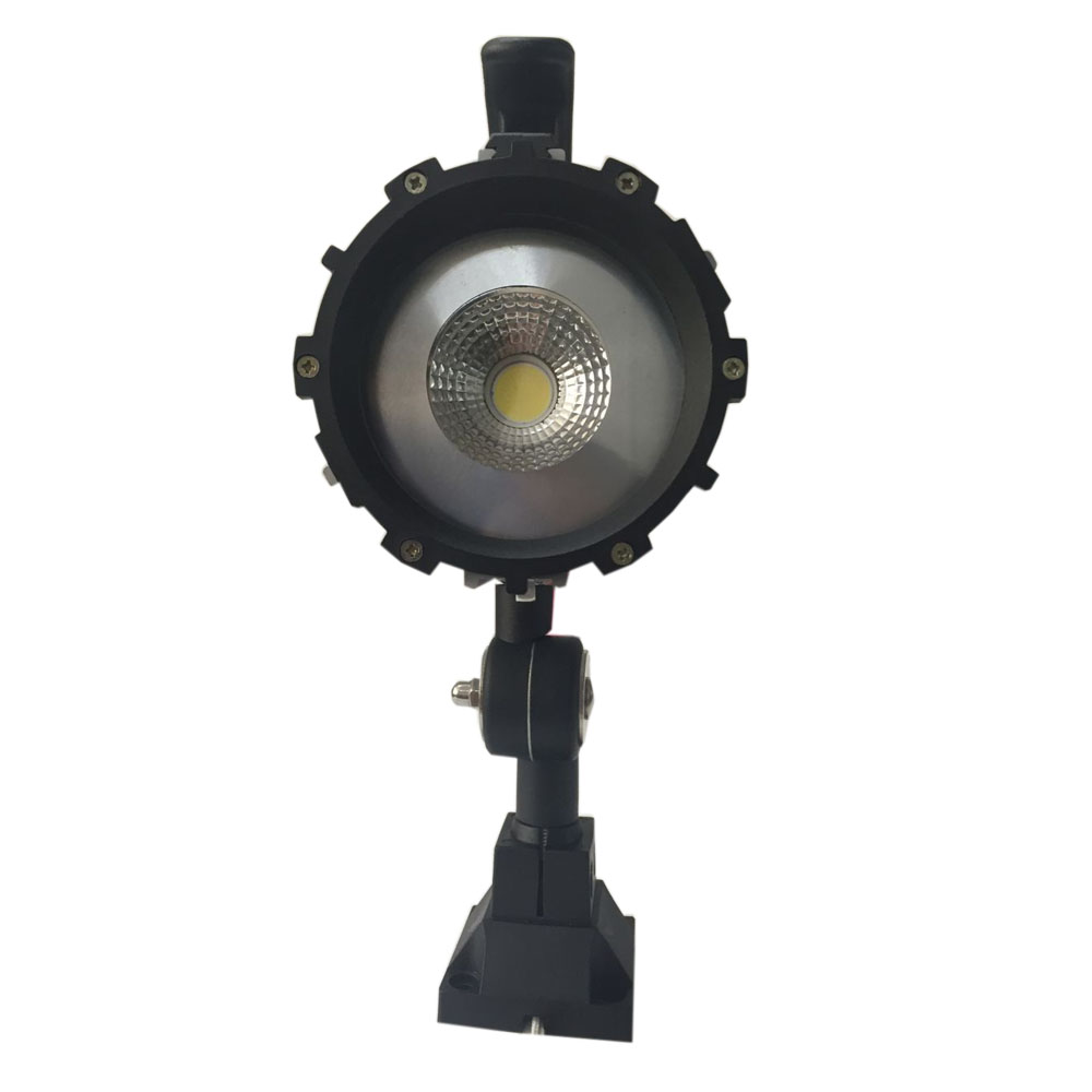 free ship 10W 24V COB LED aluminum shell short arm Fold working lamp / machine work lights / Lighting / CNC equipment lamp  цена и фото