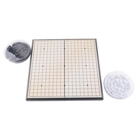 Foldable Convenient Chinese Traditional Game Of Go Board Game Magnetic WeiQi Baduk Full Set Stone 18x18