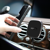 NILLKIN Enhance Car Wireless Charger Holder Qi Magnetic Air Vent Mount Pad For Samsung S6 S7