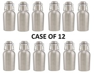 12 шт. в упаковке из нержавеющей стали, пивные производители, 64 унции, ремесло, пивной бар, пивоварня, бутылка, бочонок для домашнего приготовл