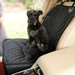 Image 2 - 2 in 1 Car Front Pet Car Seat Cover Waterproof Puppy Basket Anti Silp Pet Car Carrier Dog Cat Car Booster Outdoor Travel