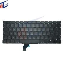 "5pcs/lot 2013-2015year DK keyboard for macbook pro 13"" retina A1502 denmark Danish keyboard without backlight 2013 -2015year"