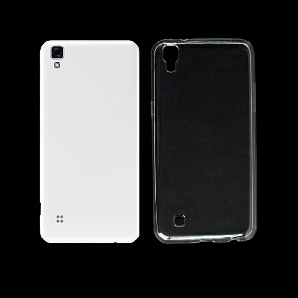 "РИВАС 100% Оригинал Silicon Case For LG X Power K220 K220DS мягкий Прозрачный Кристалл ТПУ Телефон Cover Case Для LG XPower 5.3"""