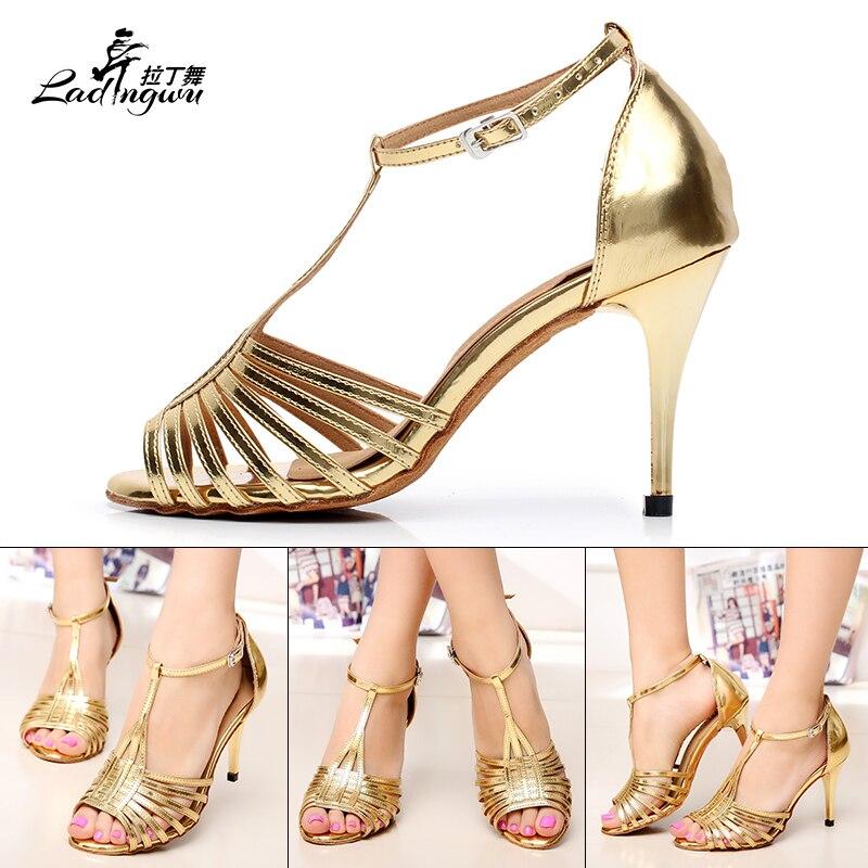 Ladingwu Hot πώλησης χρυσή / ασημένια PU - Πάνινα παπούτσια - Φωτογραφία 4
