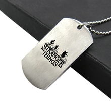 Stranger Things Stainless Steel Necklace