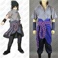 Naruto Uchiha Sasuke Cosplay Costume Anime Customized