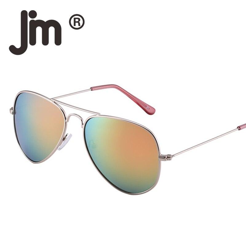 98a34ab8aee JM 10PCS LOT Bulk Sale Vintage Retro Aviation Sunglasses Flash Mirror Alloy  Metal Sun Glasses Women Men Wholesale Mixed Colors