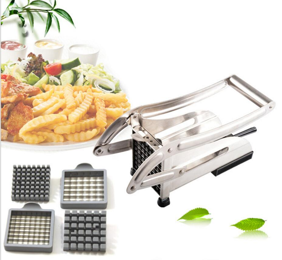 Stainless Steel Potato Chipper French Fry Cutter Vegetable Slicer