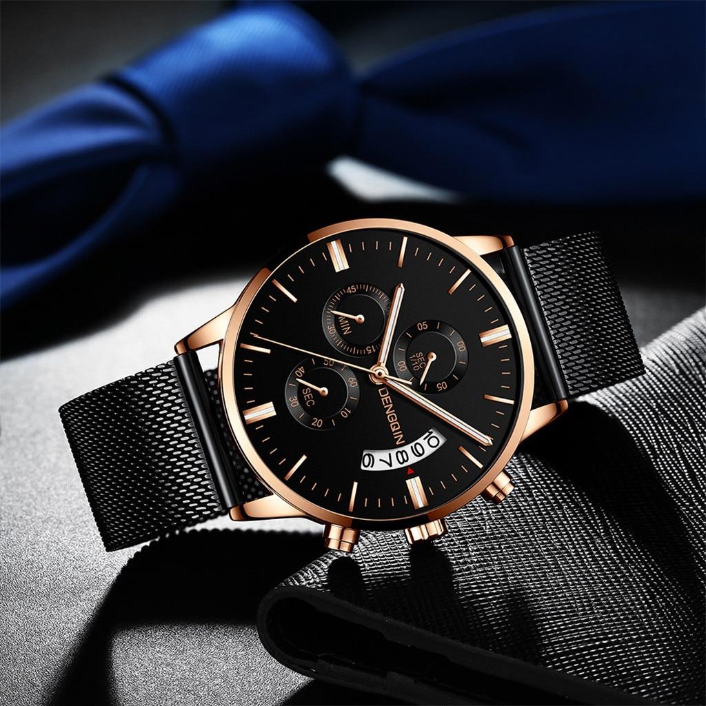 2019 Top Brand Luxury Men's Watch Date Clock Male Sports Watches Men Quartz Casual Wrist Watch Relogio Masculino Drop.3.25