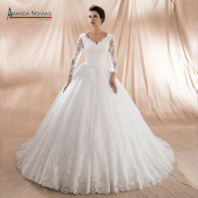 Modelo vestido de novia