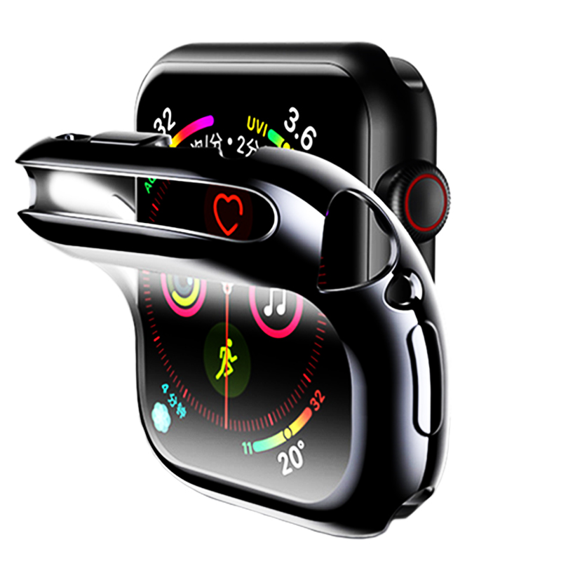 Screen Protective Cover For Apple Watch 4/5 Case Apple Watch 3 2 Case Iwatch 44mm 40mm 42mm 38mm Shockproof Shell