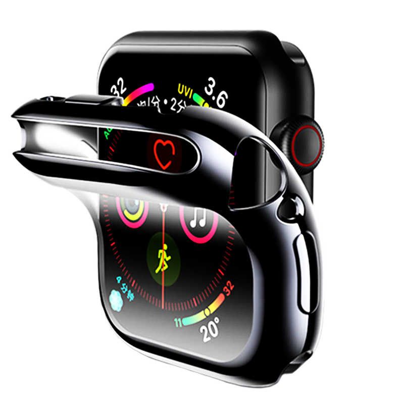 Screen Protective Cover For Apple Watch 4 case apple watch 3 2 case iwatch 44mm 40mm 42mm 38mm Shockproof Shell