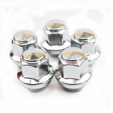 Larbll 5 шт/лот хромированные гайки для ford foucs mk3 mondeo