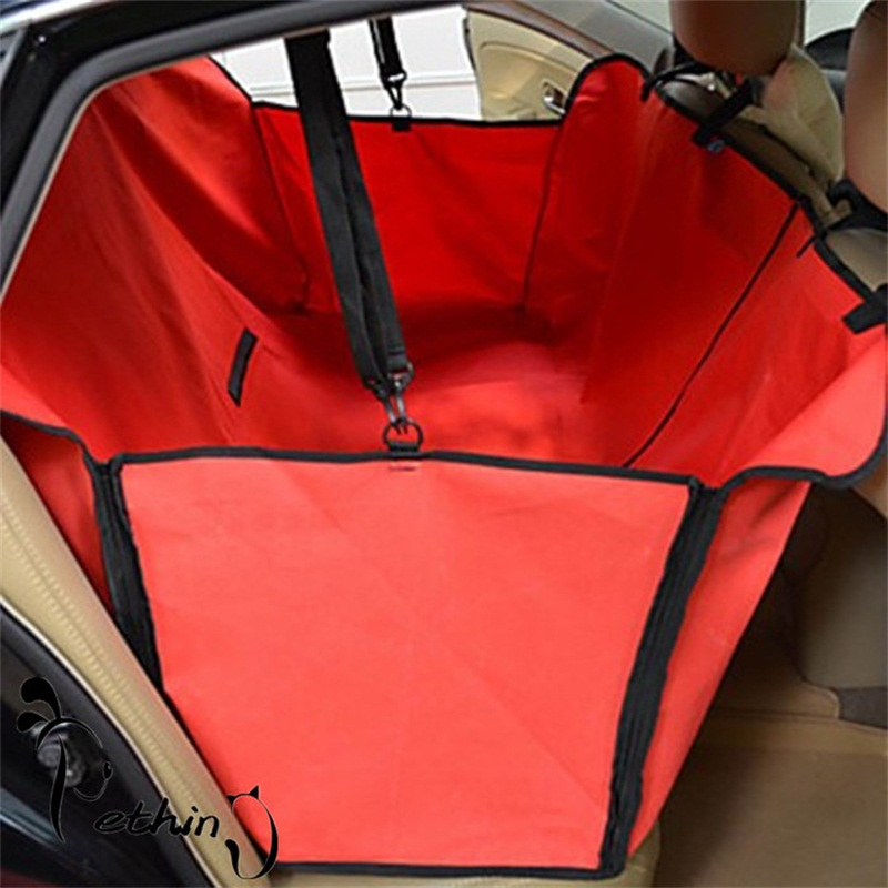 waterproof blanket seat rear mat pet protector puppy cover safety mats hammock car dog back carrier