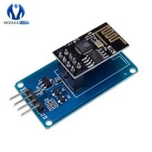 ESP8266 ESP-01 ESP01 серийный Беспроводной WI-FI модуль для Arduino трансивер приемник адаптер плата Raspberry Pi UNO R3 один 3,3 V 5V