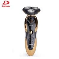 JinDing 1150 Electric Shaver Razor For Men Care Beard Trimmer 3D Floating Razors For Shaving 360