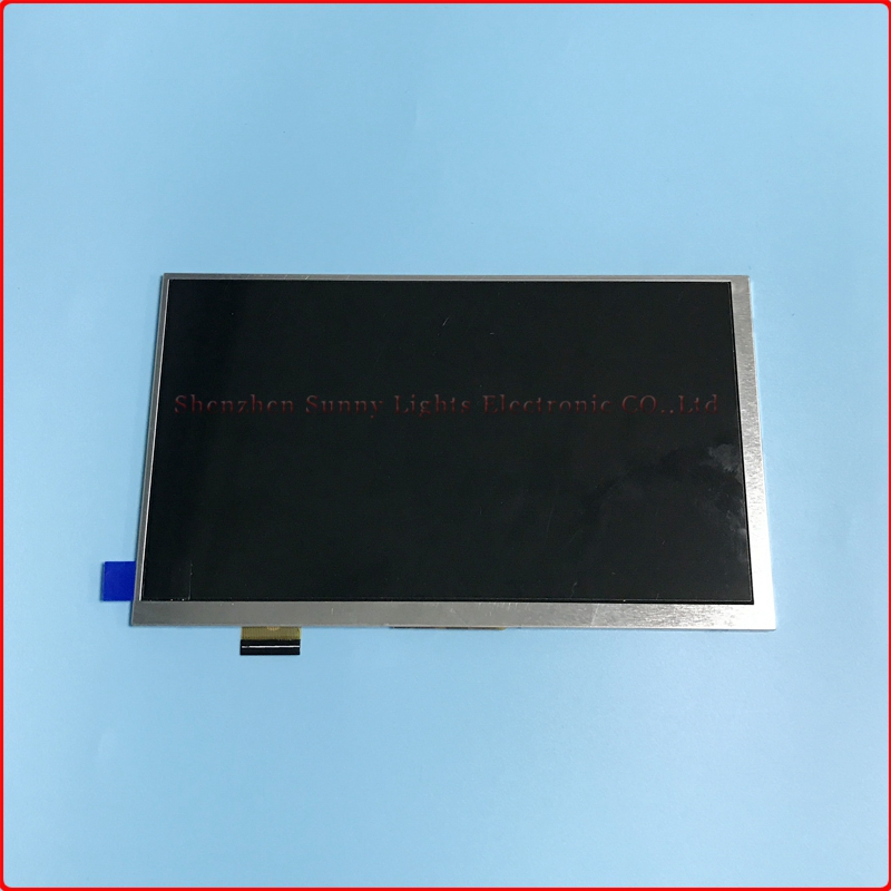 High quality WJWS070100A 7 30pin 164*97mm IPS LCD display screen For Irbis TZ70 irbis hit tz49 TZ45 TZ56 tablet inner lcd scree image
