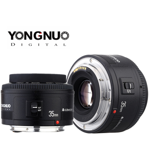 Image 2 - Yongnuo 35mm עדשת YN35mm F2.0 עדשה רחב זווית קבוע/ראש פוקוס אוטומטי עדשה עבור Canon 600d 60d 5DII 5D 500D 400D 650D 600D 450D