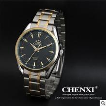 2016 Marca de Lujo completo Reloj de acero inoxidable Hombres de Negocios Casual Relojes de cuarzo Militar Reloj de Pulsera