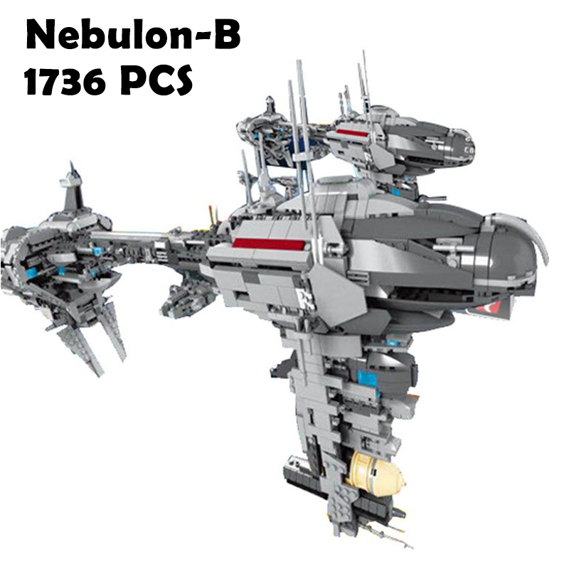 Compatible with Lego 05083 Star Series War MOC The Nebulon-B Set Medical Frigate for Children Model Building Blocks Bricks Toys 2015 high quality spaceship building blocks compatible with lego star war ship fighter scale model bricks toys christmas gift
