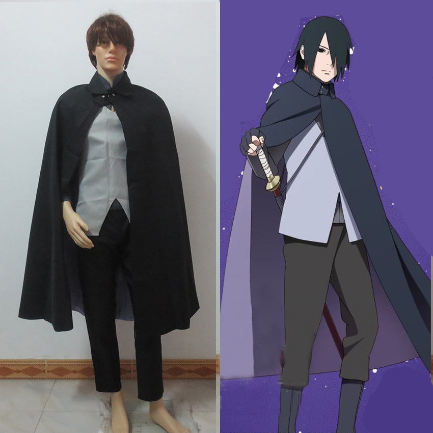 все цены на Japanese Anime Boruto Naruto The Movie Uchiha Sasuke Cosplay Costume Customized Uniform Suit