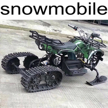 Adult electric snowmobile ABS front sled rear tire chain drive electric motorcycles