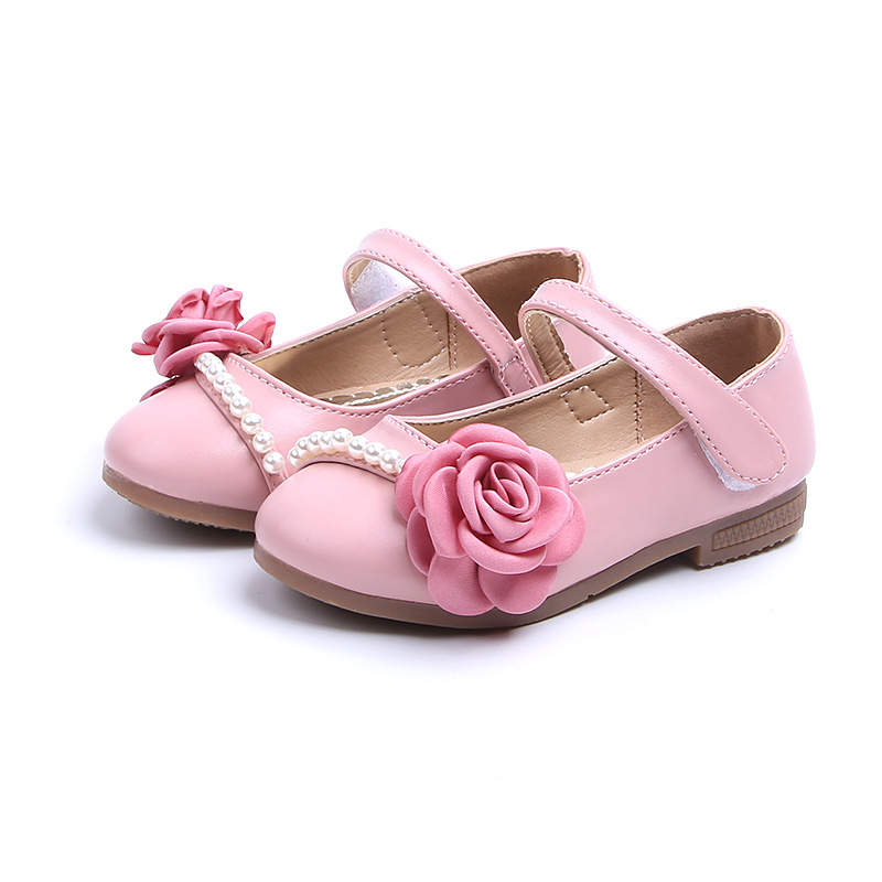 COZULMA New Girls Shoes Kids Casual Leather Shoes Girls Mary Jane Shoes with Flower Beading Children Soft Bottom Shoes for GirlCOZULMA New Girls Shoes Kids Casual Leather Shoes Girls Mary Jane Shoes with Flower Beading Children Soft Bottom Shoes for Girl