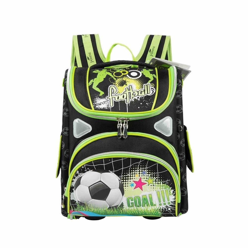 Boys Backpack School Bag Cartoon Race Car Orthopedic Backpack Student Kids School Bags For Boys
