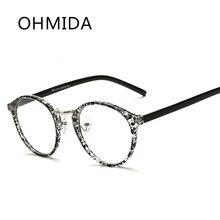 4a97391ef6 Ohmida moda Seguridad hombres ojo Gafas Marcos s mujeres óptico Gafas  Marcos vintage claro Objetivos espejo lunette de vue femme