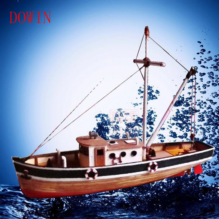 Dowin scale 1/30 assembly model kits wooden sailing boat ship model building kits educational toy DIY gift childre