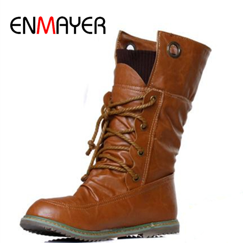 Popular Leather Motorcycle Boots for Women-Buy Cheap Leather ...