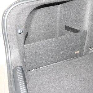 Image 2 - Для skoda Octavia II A5 A7, посылка для багажника, Специальная большая черная сумка для хранения, простая перегородка для хранения, 2 шт.