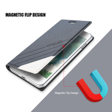 Magnetic Flip Phone Case with Cards Slot for iPhone