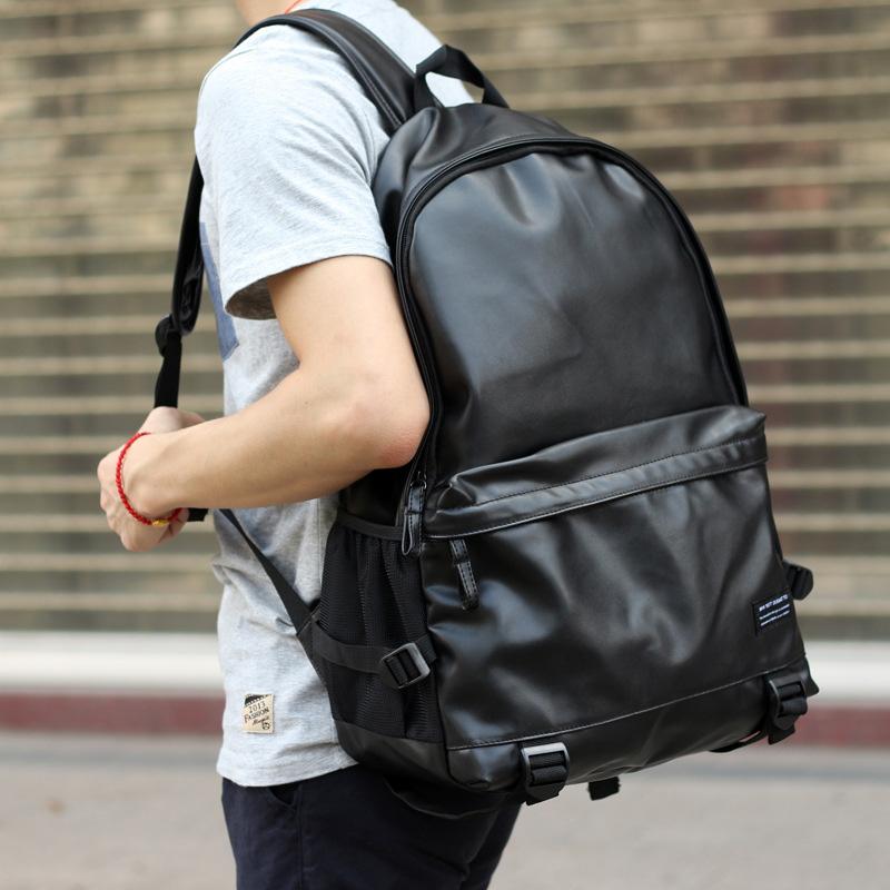 Women BTS Backpack Luminous PU Leather Female Backpacks Waterproof Boys Girls School Bags Teenager Schoolbag Mochila BP0172 (14)
