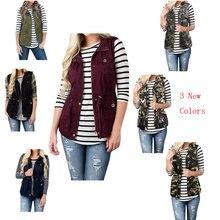 HEE GRAND 2019 Spring Vest Women Autumn Casual Sleeveless Cargo Jacket Multi-pockets Outwear Quick Dry Unisex Coat 2XL WWV362-1