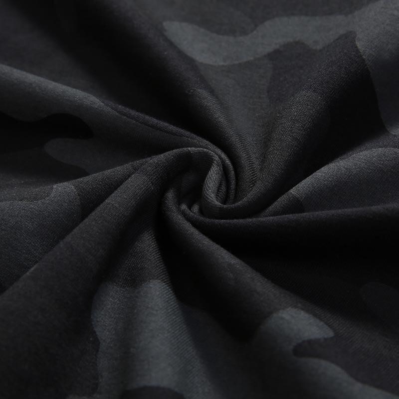 Tide брендовая мужская Толстовка большого размера, мужской головной убор с капюшоном в стиле хип хоп, свободная камуфляжная одежда с капюшоно... - 5