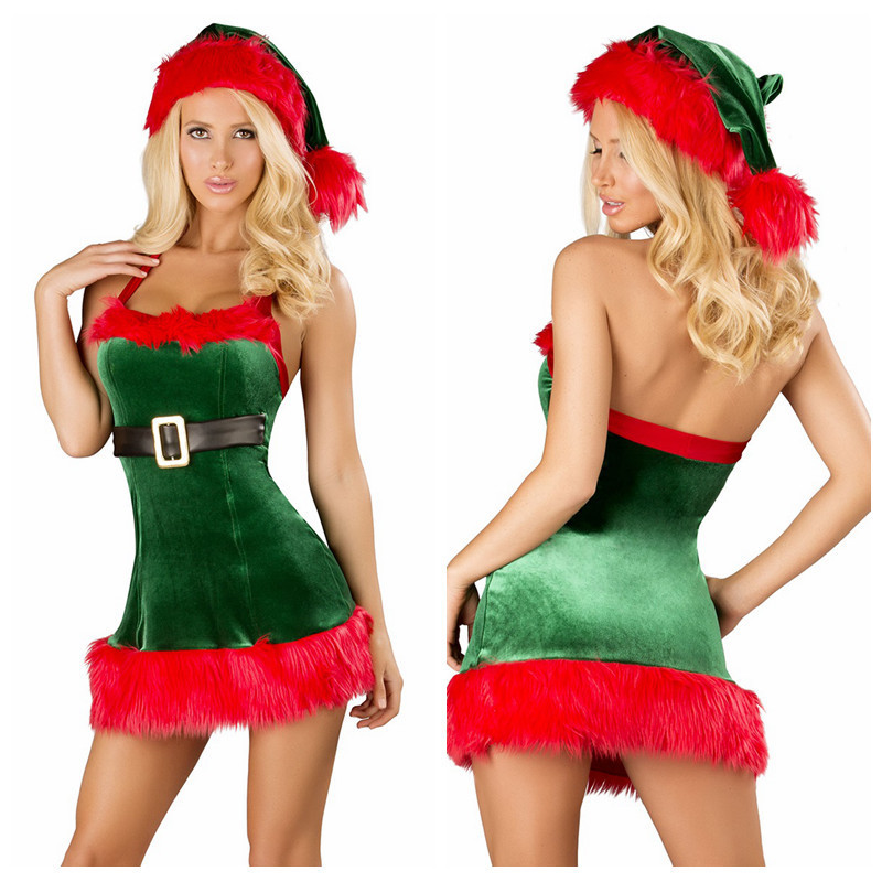 Free shipping DELUXE Ladies Christmas Xmas Elf Santas Helper Fancy Dress  Costume-in Sexy Costumes from Novelty & Special Use on Aliexpress.com |  Alibaba ... - Free Shipping DELUXE Ladies Christmas Xmas Elf Santas Helper Fancy