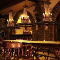 Винтаж колеса твердой древесины подвесной светильник подвесной светильники Лофт лампа из дерева лампы luminaria для промышленных Декор светил