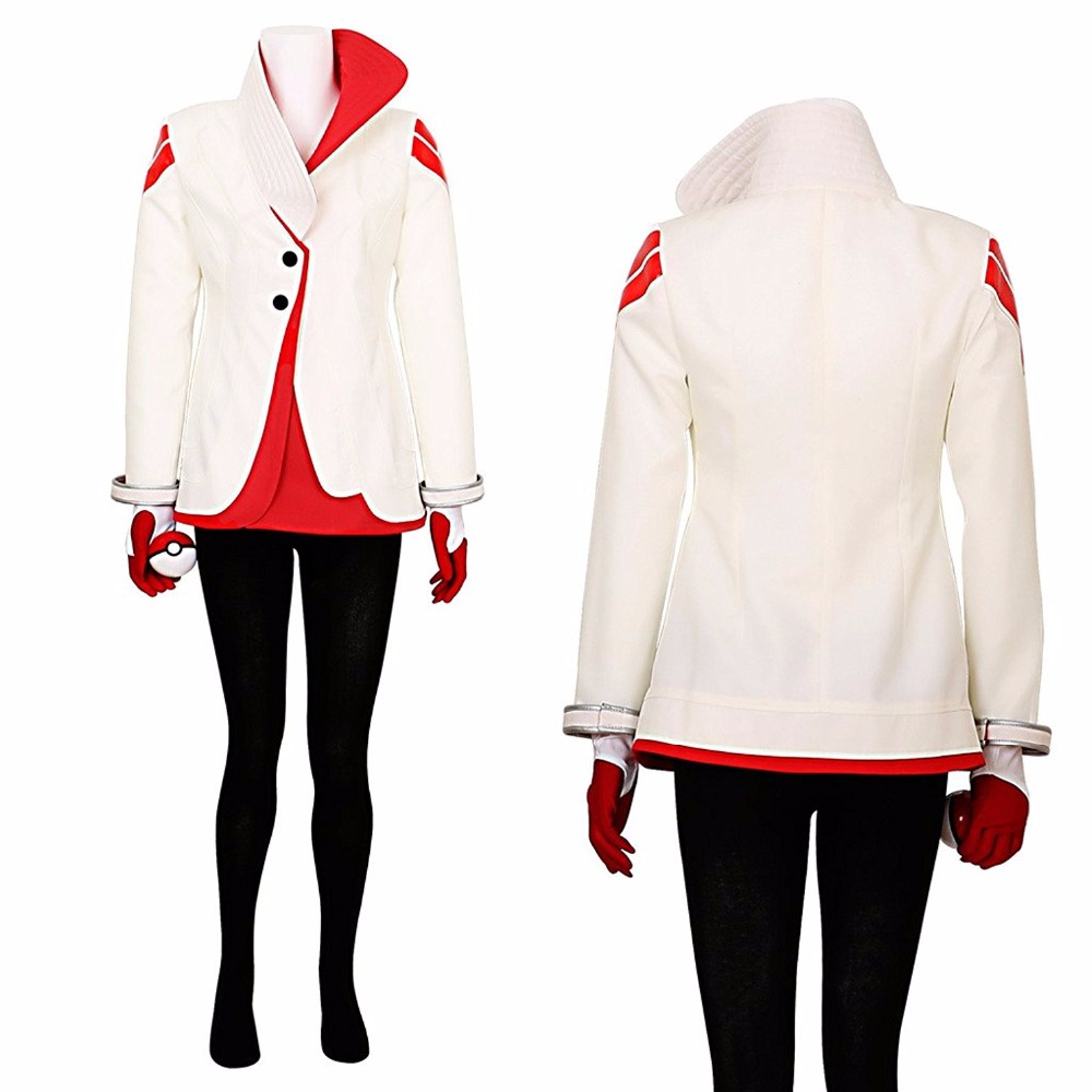 Pokemon Go Candela Team Valor Team Leader Cosplay Costume Tailor Made