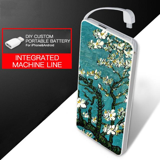 4000 mah ultra delgado banco de la energía de emergencia portátil batería del li-polímero para samsung huawei iphone 7 7 plus android ios móvil