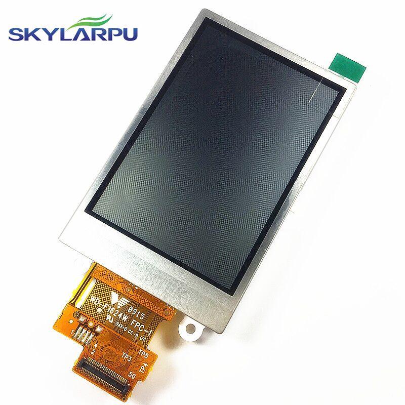 skylarpu 2.6inch LCD screen for Garmin Dakota 20 GPS LCD display Screen WD-F1624W-7FLWH TFT LCD display Screen Free shipping pm070wx6 lf lcd display pm070wx1 pm070wx5 lcd displays screen