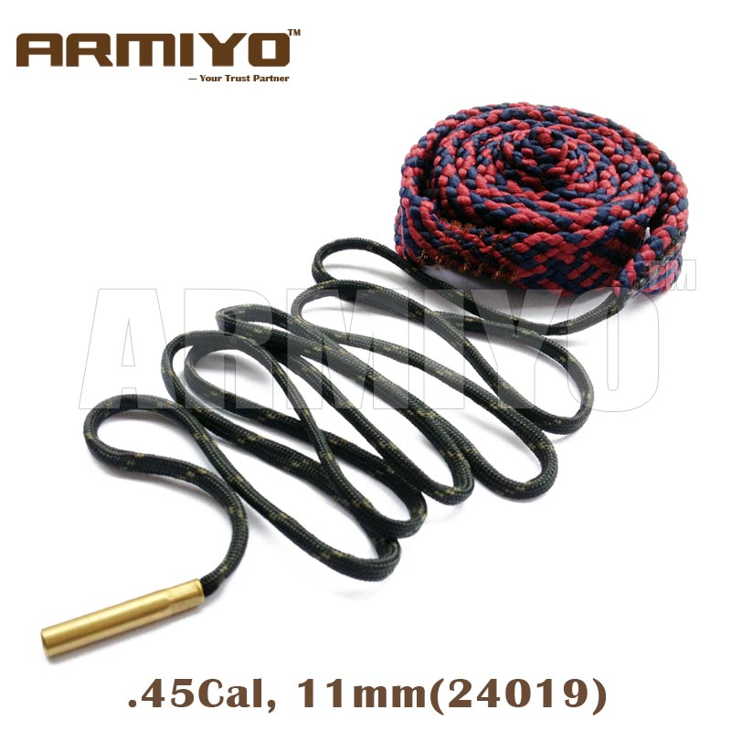 Armiyo Bore Snake .416,.44,.45-70,.458,.460 Cal 11mm Gun Bore Cleaner Barrel Cleaning Sling 24019 Hunting Shooting Accessories