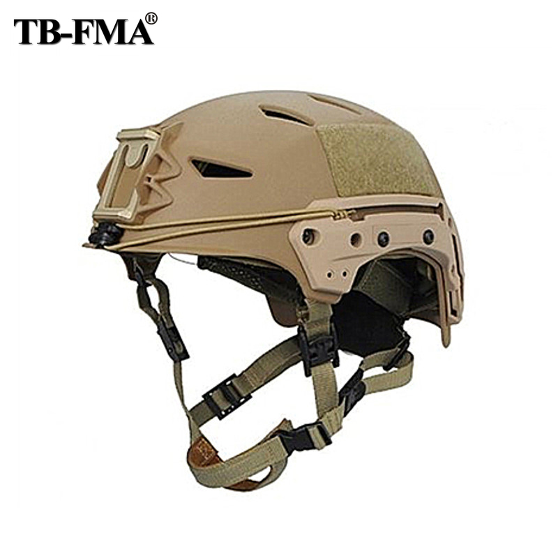 TB FMA Sports Helmet Airsoft Military Helmet Black for AirsoftSports skirmish Protection Paintball Tactical Combat Free