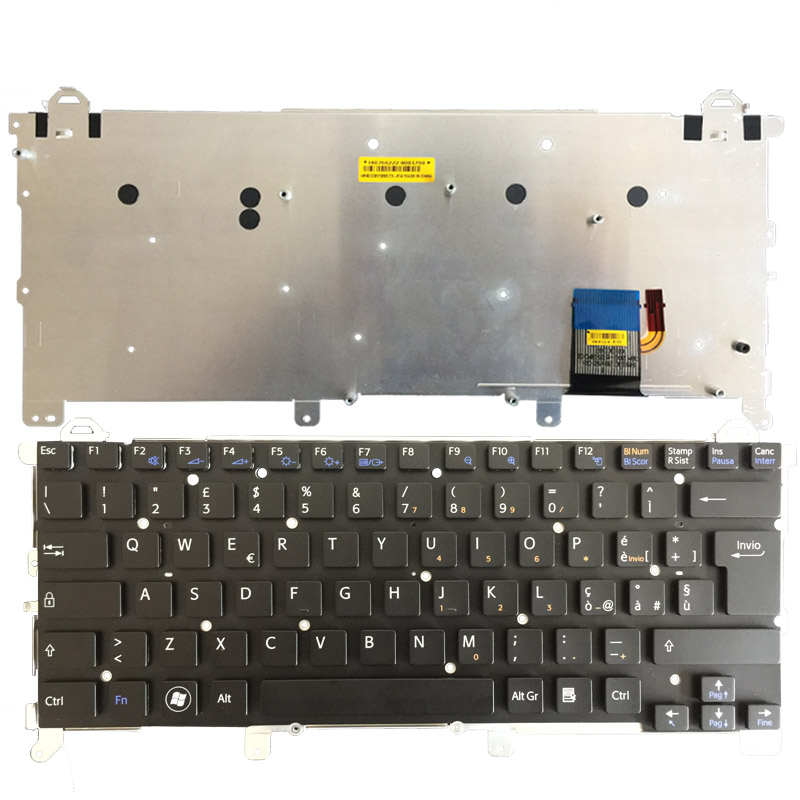 NEW Italian Laptop keyboard replacement keyboard for Sony vpc z1 vpcz1 PCG-31113T 31112T 31111T with backlit