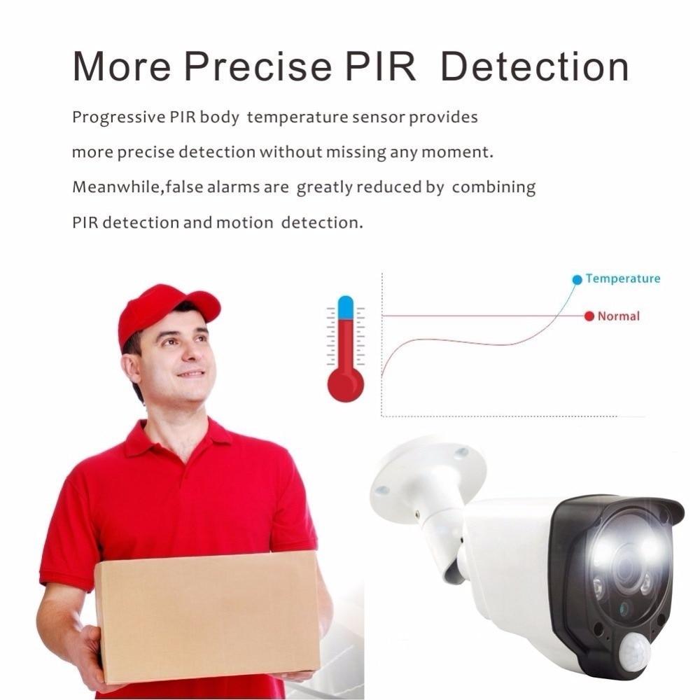 pir motion detection wifi camera