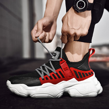 2019 summer new mens shoes trend running mesh breathable casual sports