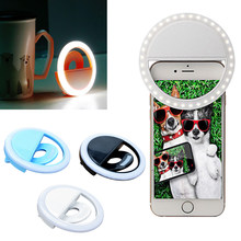 Centechia Selfie licht Fotografische Verlichting Met USB Charge Ring licht Led Ring Voor IPhone Android(China)