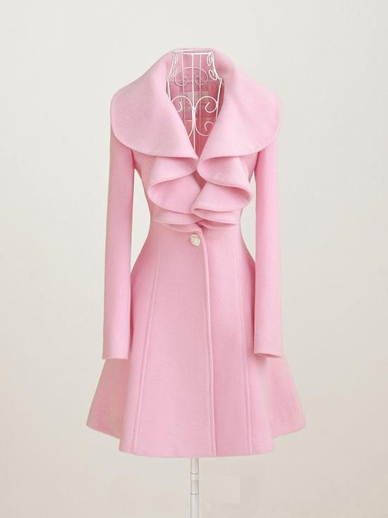 Popular Flounce Coat-Buy Cheap Flounce Coat lots from China