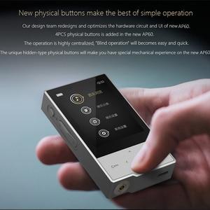 Image 5 - Hidizs AP60 השני HiFi מתוקים Bluetooth 4.0 apt x DSD USB DAC FLAC AAC APE MP3 מוסיקה נגן AKM4452VN MAX97220A AP60II AP60 השני